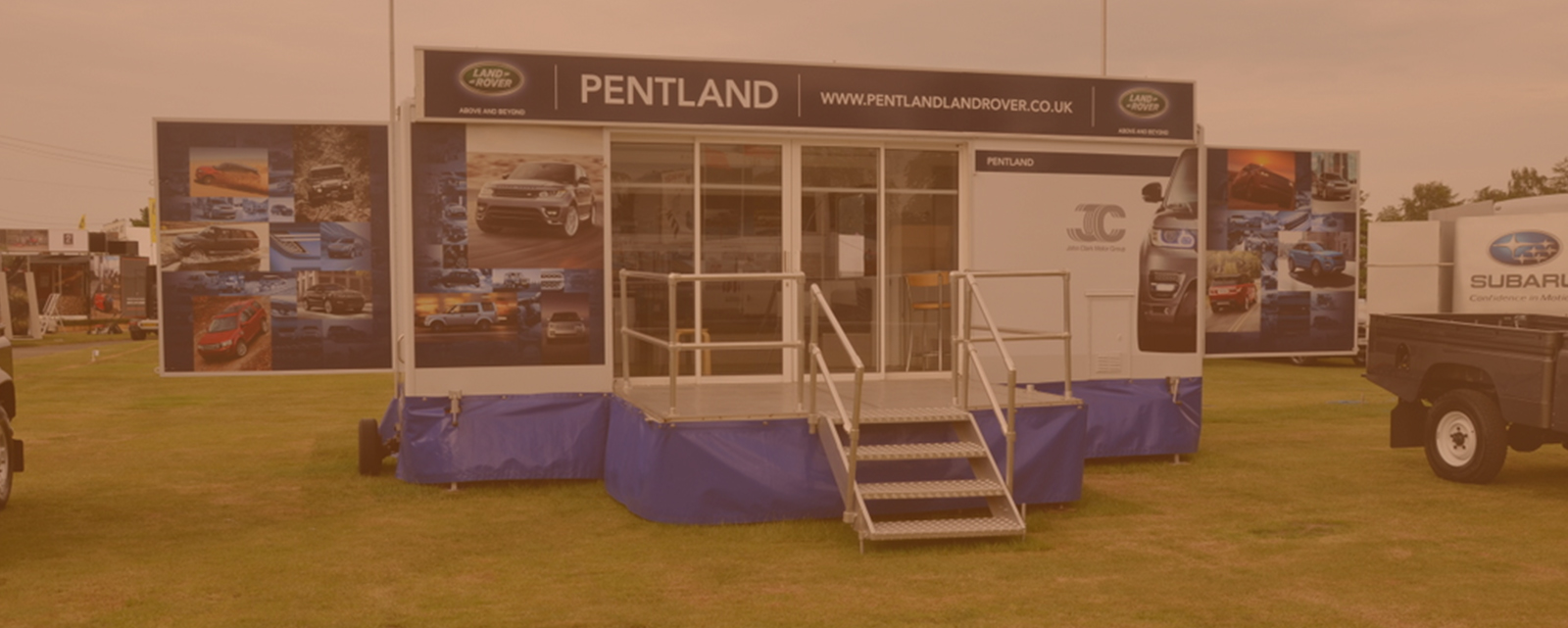Exhibition Stand Hire Glasgow : Strathmore exhibition trailers trailer hire